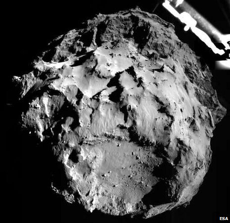 In November, the mission made history by putting a lander on the comet surface
