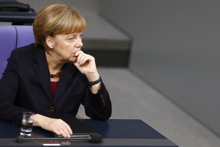 German Chancellor Angela Merkel's website and that of the German legislature were taken down in an attack claimed by a pro-Russian hacking group calling itself CyberBerkut.  Reuters/Hannibal Hanschke