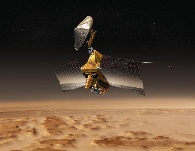 The Mars Reconnaissance Orbiter. (NASA)