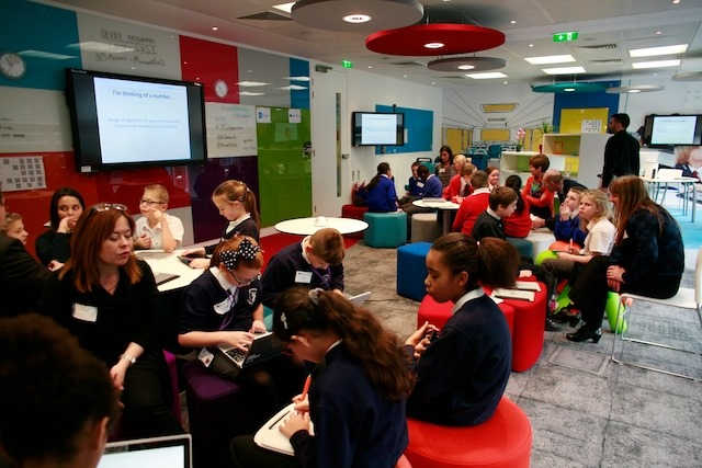 Last week pupils and teachers were invited to the Microsoft Showcase Classroom in London for a Computing At School workshop ahead of the launch of QuickStart Computing