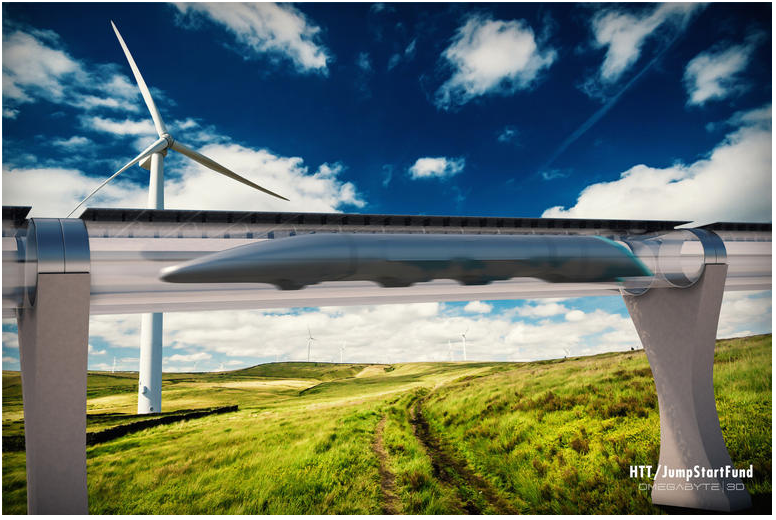 Elon Musk calls the Hyperloop a fifth mode of transportation. Using electromagnetic pulses and pressurized tubes, Hyperloop could hit near-supersonic speeds.
