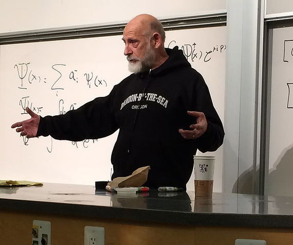 Prof. Leonard Susskind at Stanford (Credit: Wikimedia Commons)