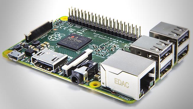 Raspberry Pi 2, the newest Raspberry Pi, was announced in London on Feb. 2, 2015. (Courtesy Raspberry Pi Foundation)