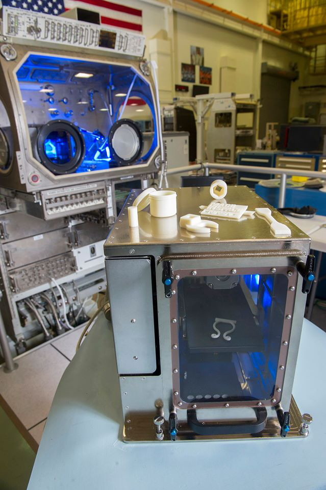 Made in Space's next iteration will be able to print with multiple materials, including both plastics and metals, which means that sometime in the next five years, 60 percent of the parts in use on the ISS will be printable. And just behind this version is the real game changer: a 3-D printer capable of printing electronics.