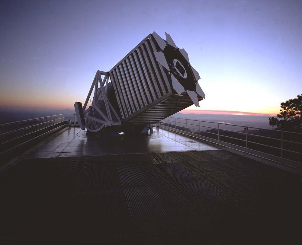 Sloan Digital Sky Survey telescope -Photo by: Reidar Hahn, Fermilab