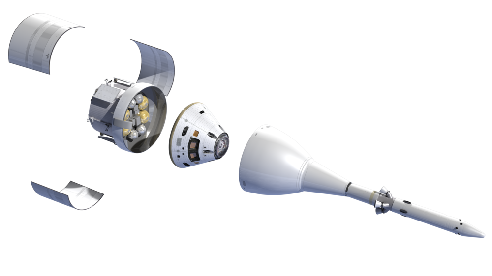 NASA's Orion Spacecraft and SLS Launch System