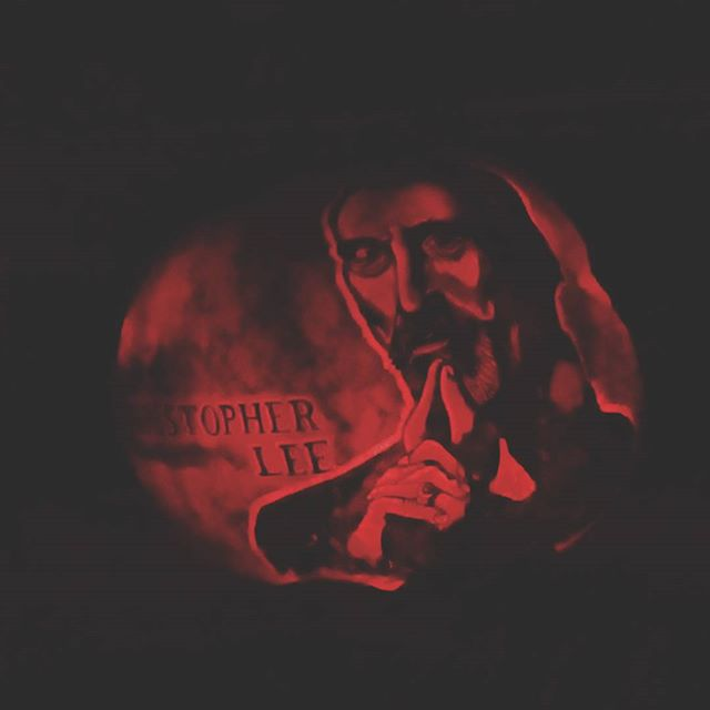Rise of the Jack O ' Lanterns @ Decanso Gardens last night - RIP  section. Miss you Dracula / Count Dooku!