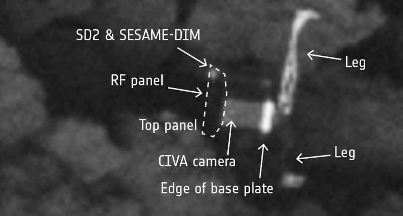 Image: ESA/Rosetta/MPS for OSIRIS Team MPS/UPD/LAM/IAA/SSO/INTA/UPM/DASP/IDA