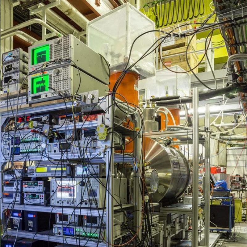 The BASE experiment at the CERN antiproton decelerator in Geneva.Credit: STEFAN SELLNER, FUNDAMENTAL SYMMETRIES LABORATORY, RIKEN, JAPAN