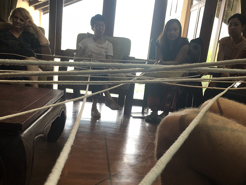 really affirming string activity reinforcing the idea of unity & community <3