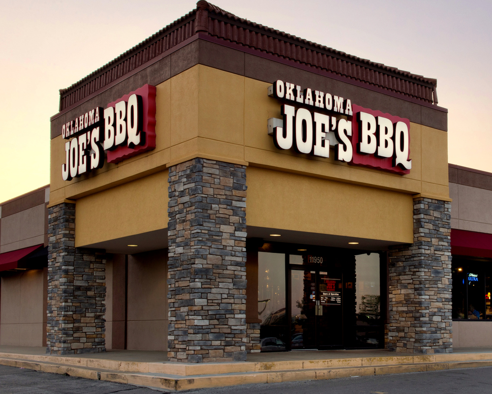 Joe's #2, on Strang Line Road, just south of 119th Street.