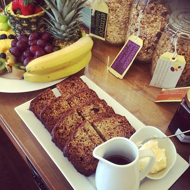 Happy Mothers Day Mums! We thought we better do banana bread this morning. #breakfast