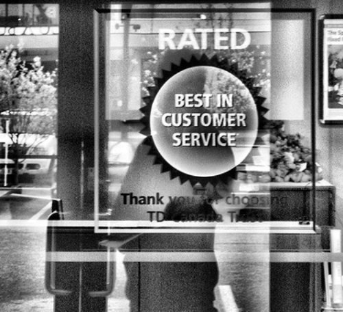 RATED BEST IN CUSTOMER SERVICE by   hobvias sudoneighm Creative Commons