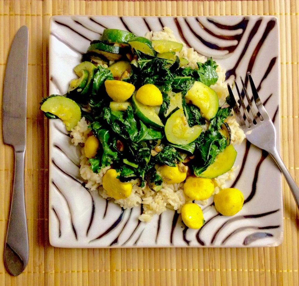 Green Power Veggie Plate