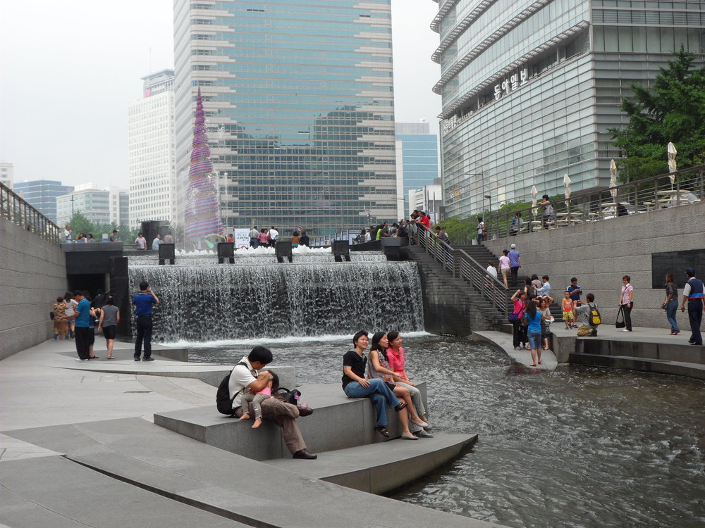 Seoul's Cheonggyecheon Stream