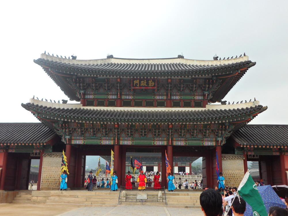 Entrance to Gyeongbokgung Palace