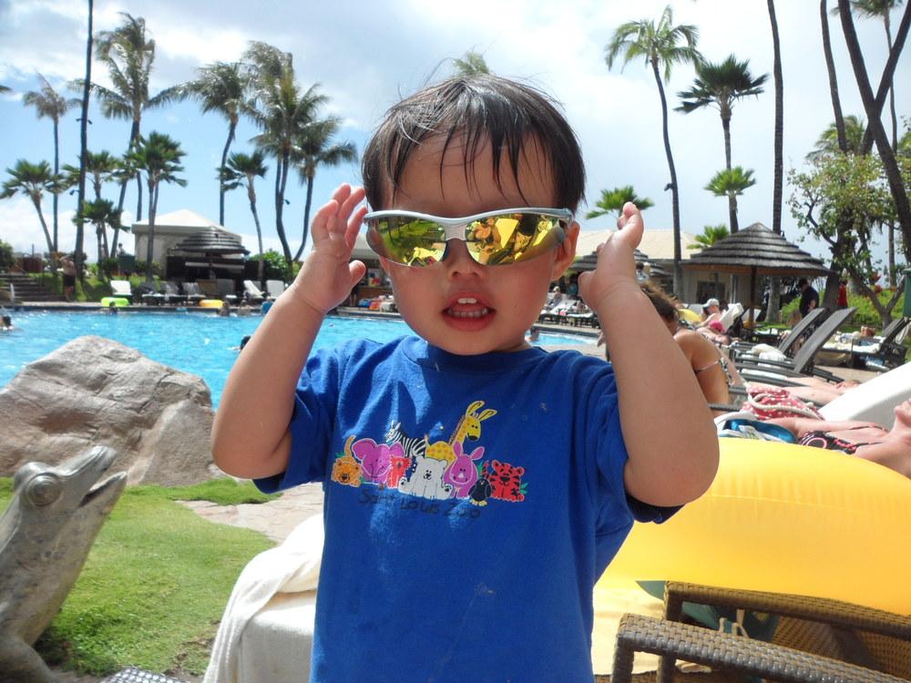 Teddy in Maui