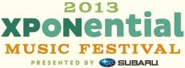 Xponential Music Festival 2013 Logo