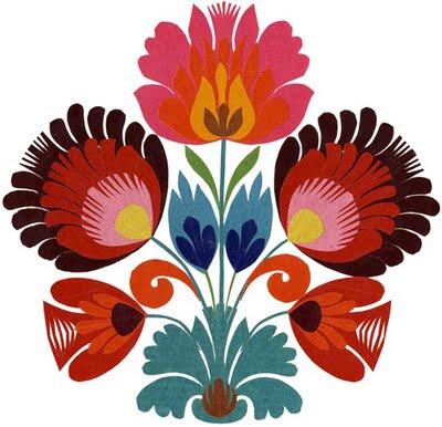 Wycinanki - Traditional Polish papercut arts.