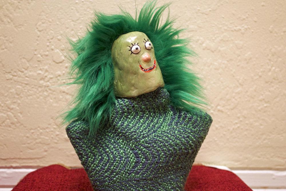 Dewey Duncan, hand puppet