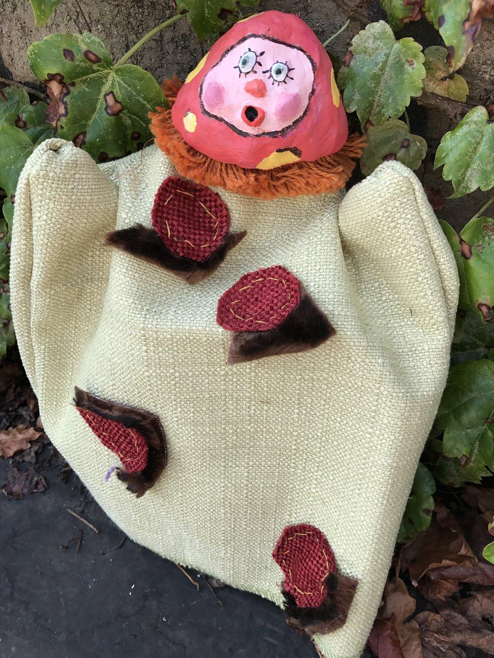 Matilde, hand puppet