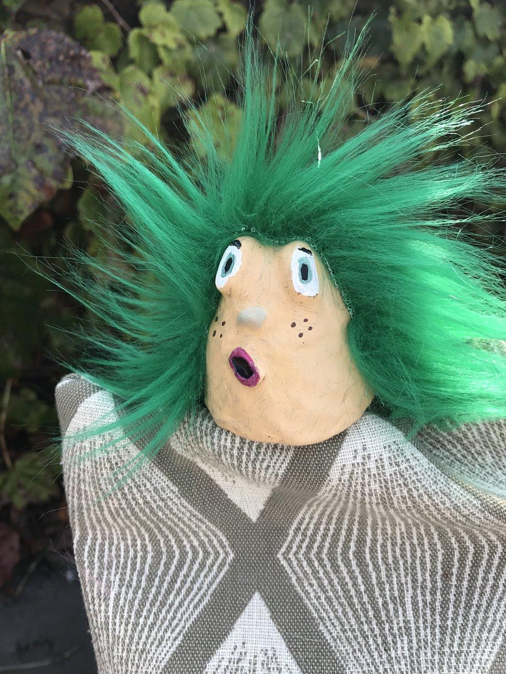 Gilbert, hand puppet