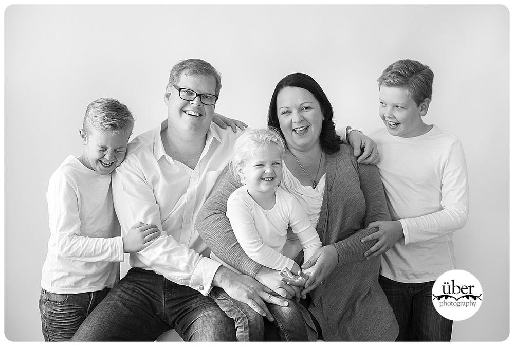 Family studio photography Sydney