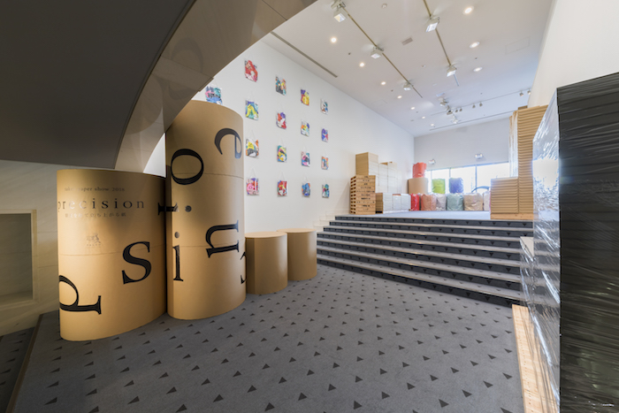 takeo paper show 2018 東京展 会場風景 Photo by Shintarou Yamanaka (Qsyum!)