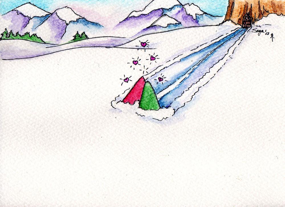 Gnome Snow Stroll
