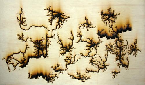 Melanie Huff Wooden Panels