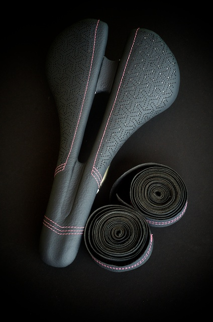 Specialized Bicycle Components-saddle-Romin-expert-custom-leather-japanese-dots-pink-silver-grey-handmade-austin-leatherworking-busyman-leh-seats-matching-barwrap-usa-real-hide-brooks-leh-seats-custom-manufacturing  9.jpg