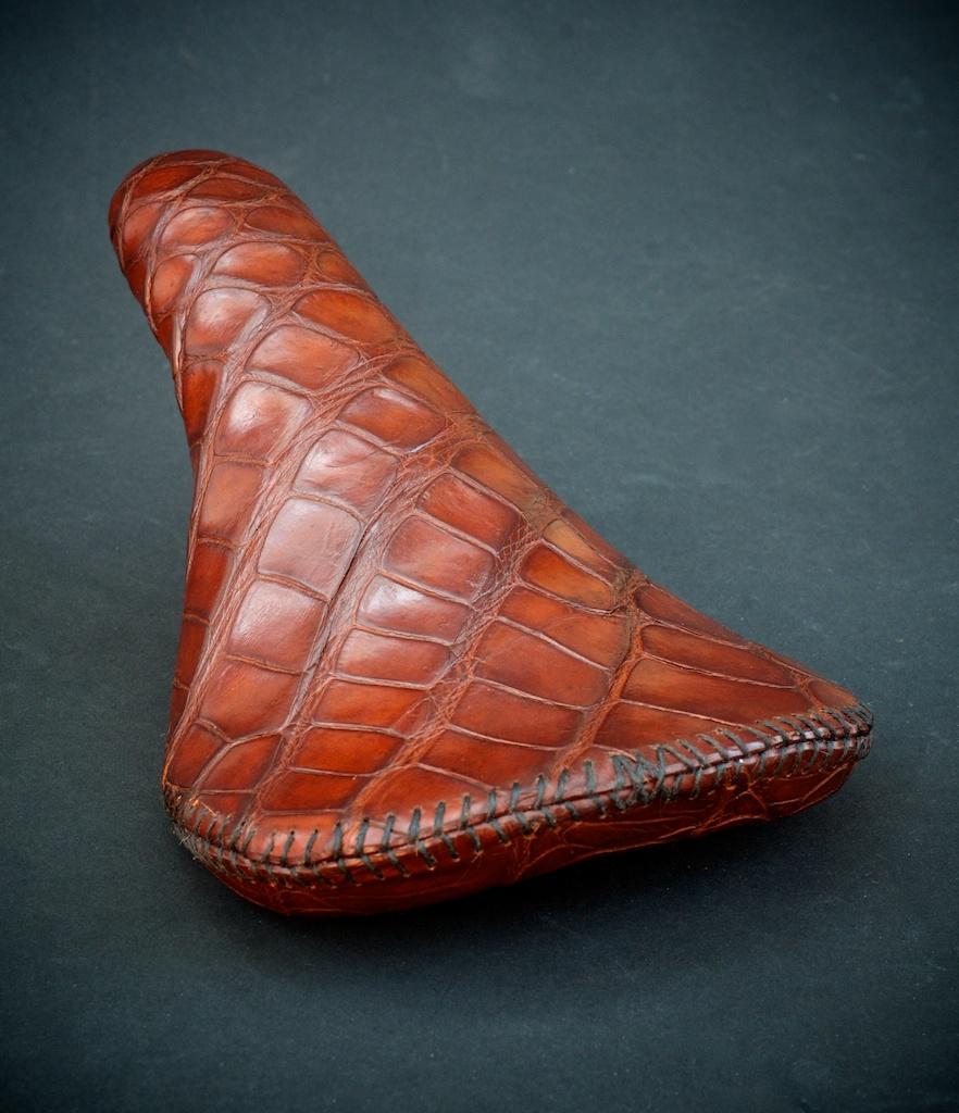 Crocodile-leather-handmade-seat-saddle-custom-motorcycle-bike-bicycle-cycling-vintage-fizik-brooks-selle-italia-san-marco-specialized-wtb-made-in-austin 1.jpg