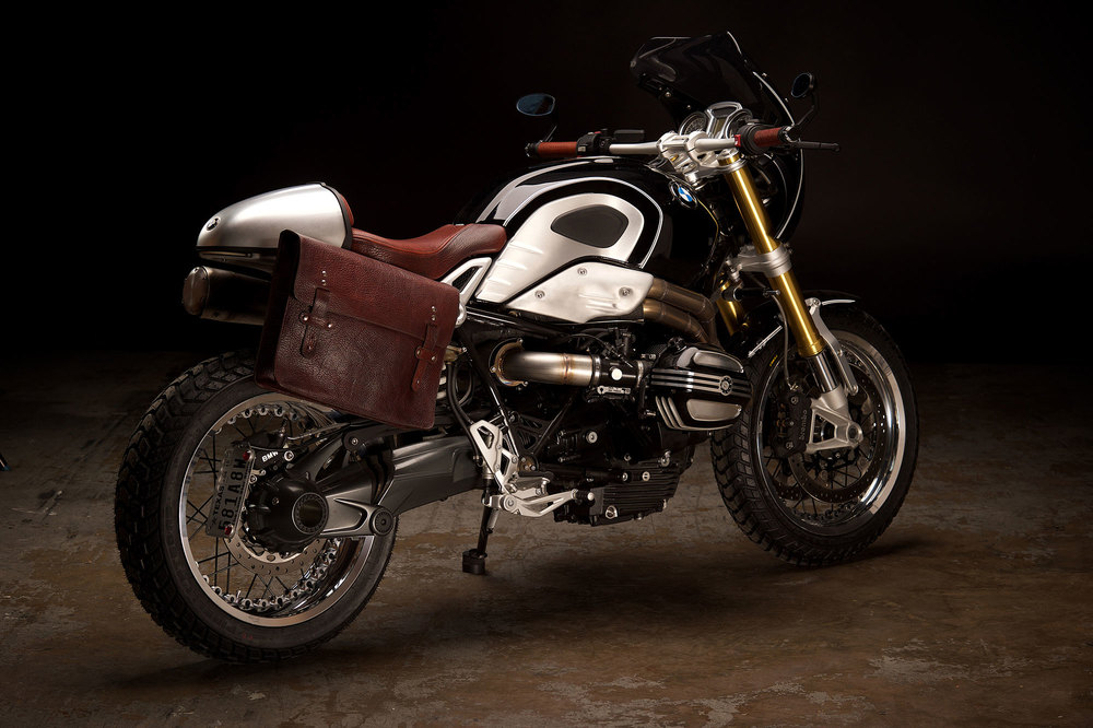 Revival Motorcycles Bmw Rninet Bison Leather Seat And
