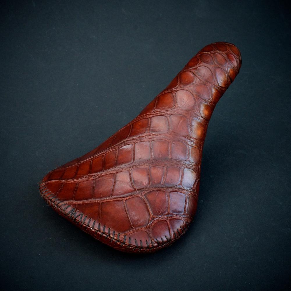 Crocodile-leather-handmade-seat-saddle-custom-motorcycle-bike-bicycle-cycling-vintage-fizik-brooks-selle-italia-san-marco-specialized-wtb-made-in-austin 8.jpg