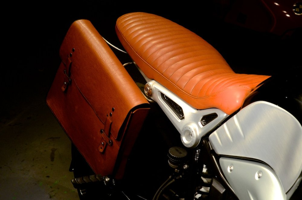 Revival-BMW-RNineT custom bull hide saddlebag custom leather seat honey leather grips bag hand made austin texas leh seats- carson leh 2.jpg