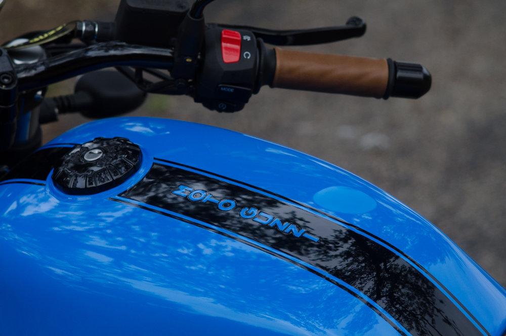 Obsidian Leather Goods Custom Moto Guzzi leather saddle with etched logo- custom- -8.jpg