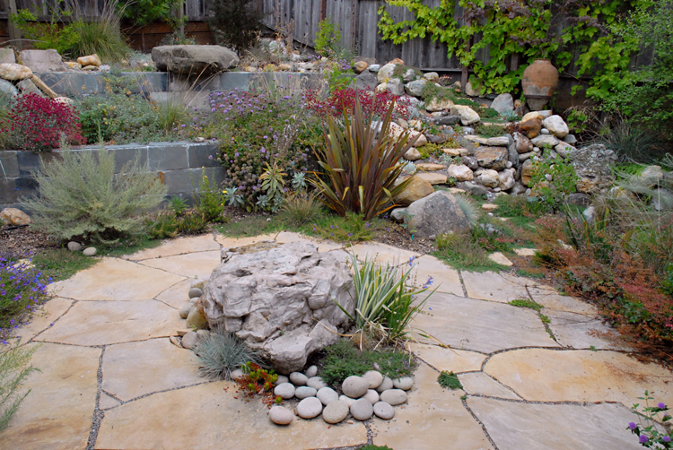 rock garden — liz simpson garden design
