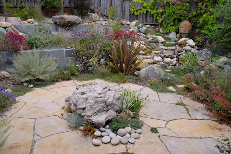 Rock garden liz simpson garden design for Rock garden designs shade