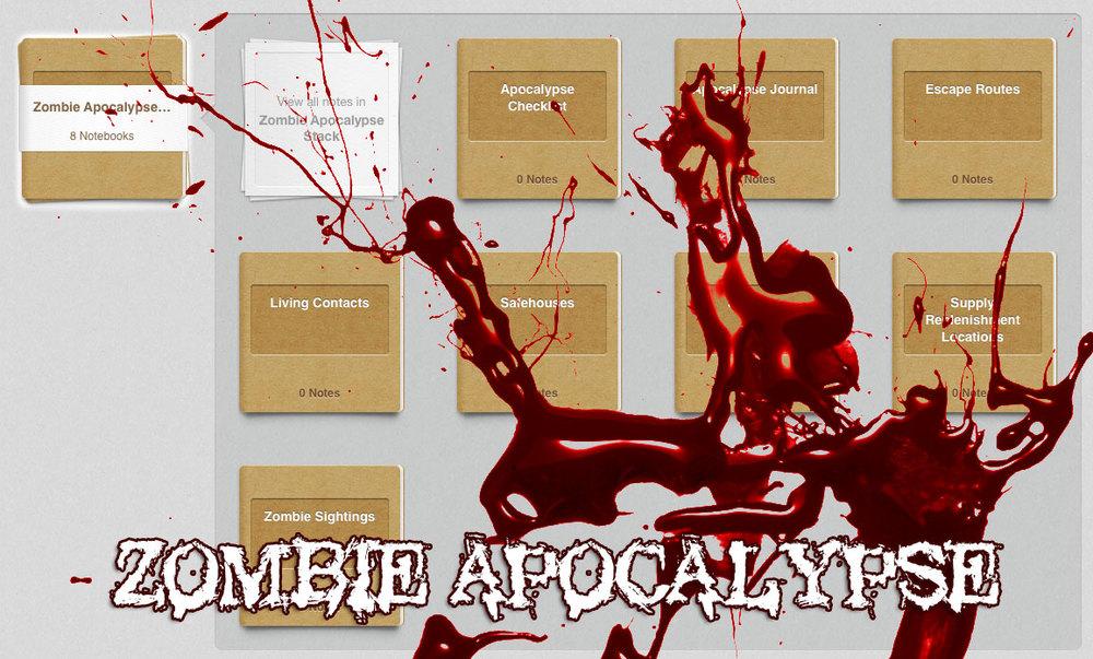 Evernote-for-Zombie-Apocalypse