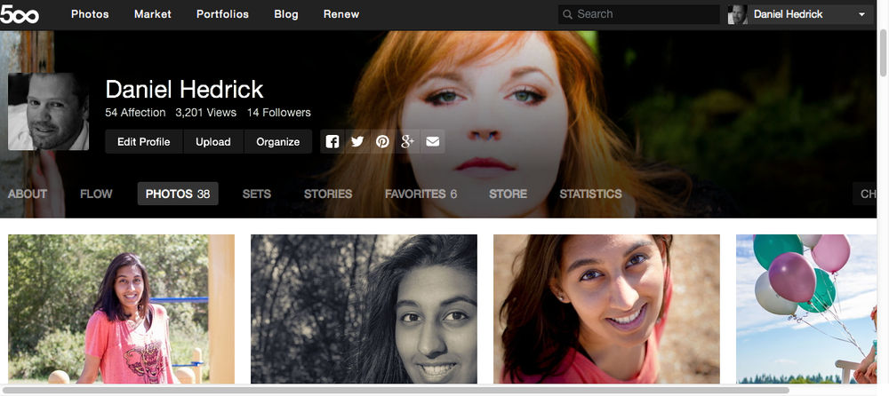 500px is where photographers share their best work