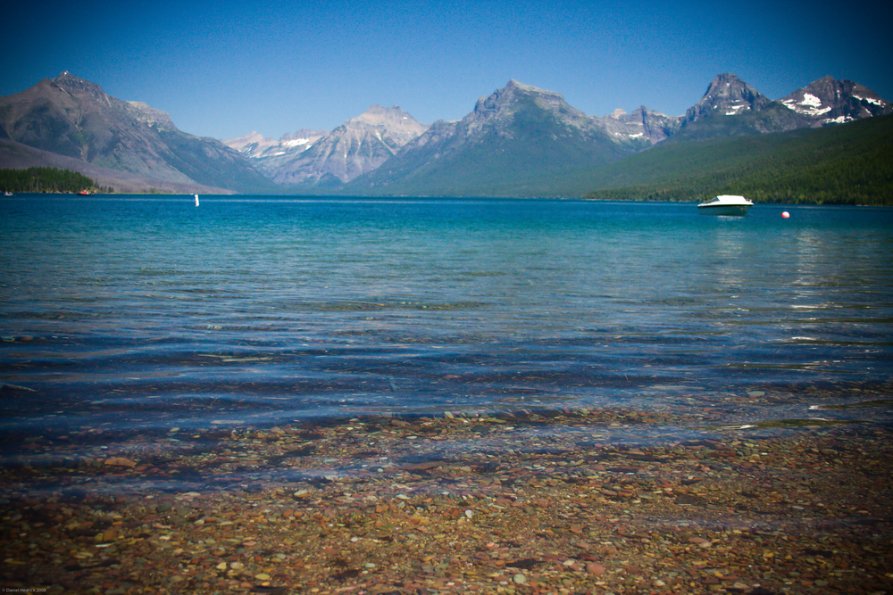 Spent one relaxing afternoon out on a boat on Lake McDonald.
