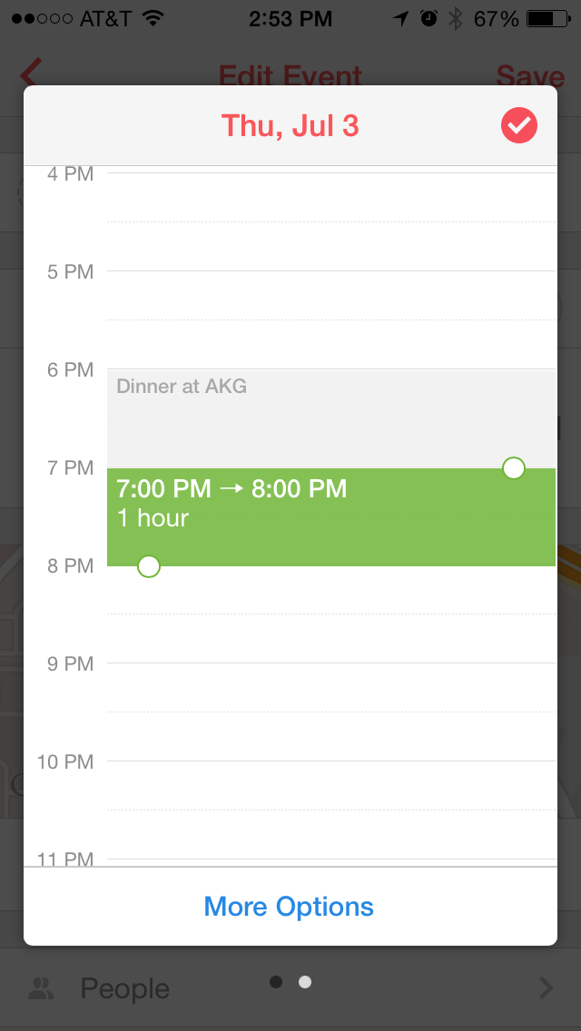 Scheduling an Evernote Reminder
