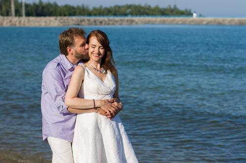 Charming Destination Wedding, Traverse City, MI: Wilma + Joseph ...
