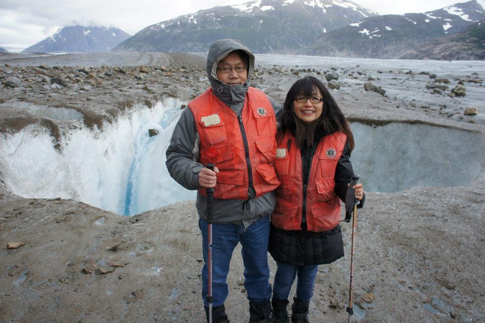 parents in alaska, august 2012