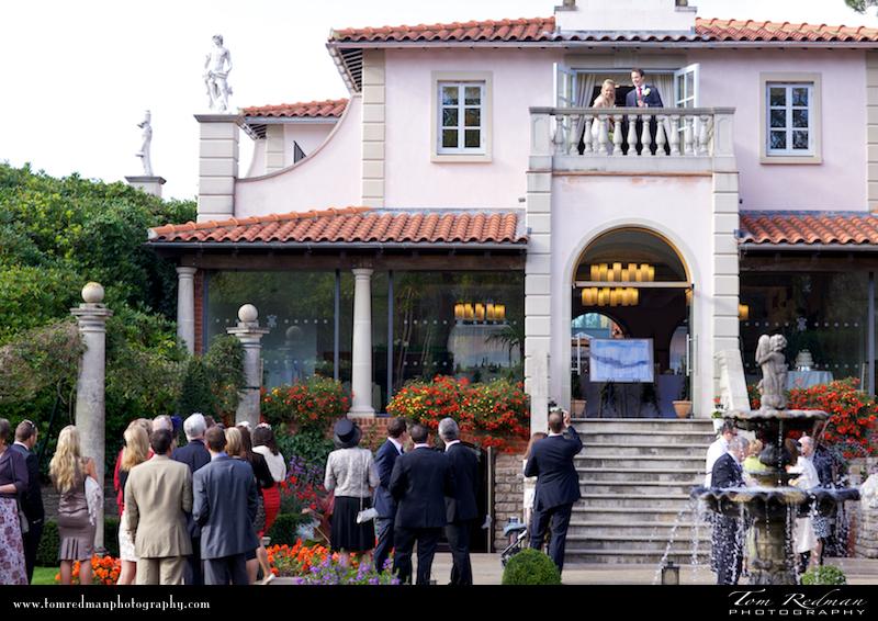 Compton Acres Italian Villa weddings