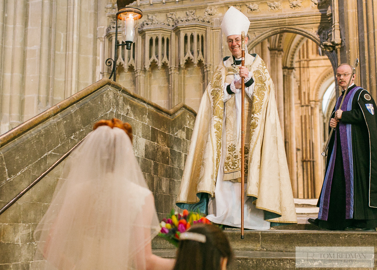 Archbishop of Canterbury family wedding