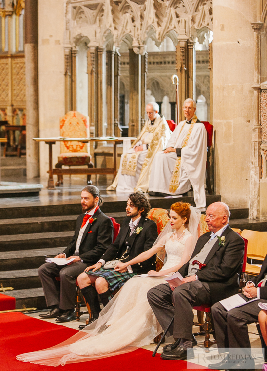 Archbishop of Canterbury at wedding