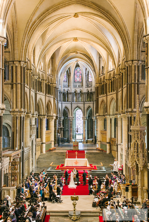 Canterbury cathedral wedding photos