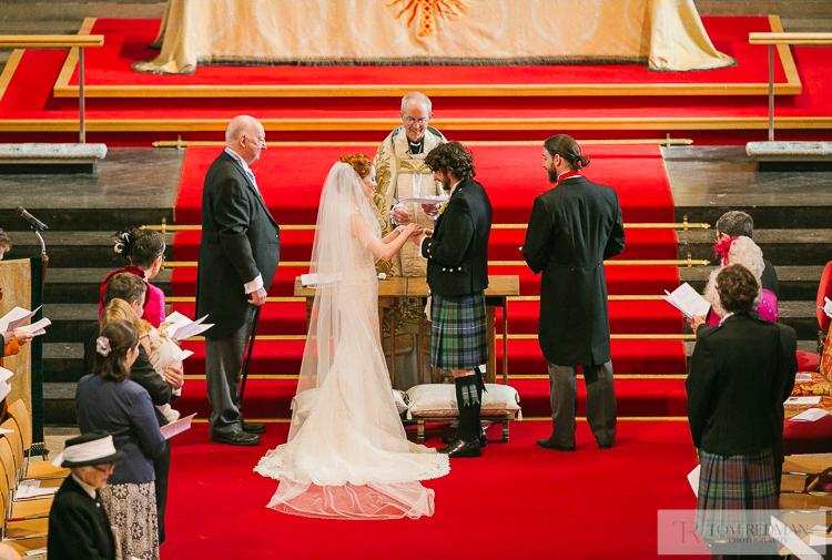 Archbishop of Canterbury family wedding