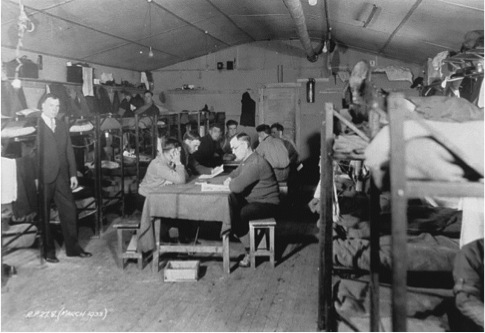 Relief Camps had become, in effect, prisons.